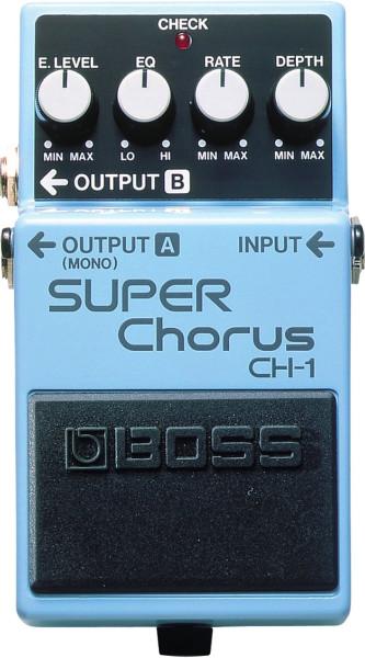 Boss CH 1 Super Chorus Effektpedal