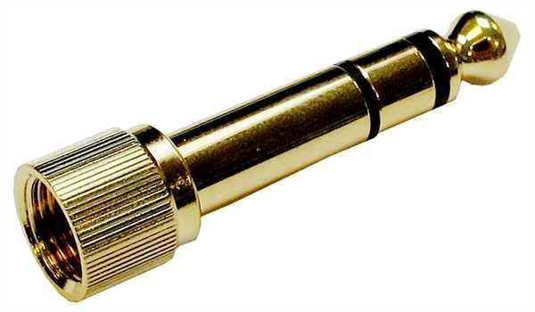 Sennheiser Klinkenadapter schraubbar 3,5mm Buchse - 6,3mm Stecker
