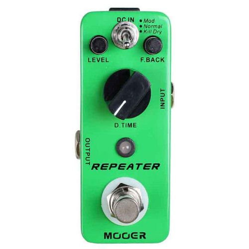 Mooer Repeater 3 Modes Digital Delay Pedal