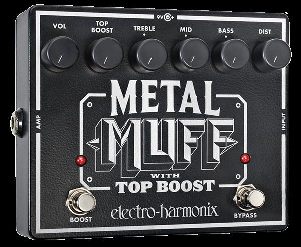Electro Harmonix Metal Muff / Top Boost