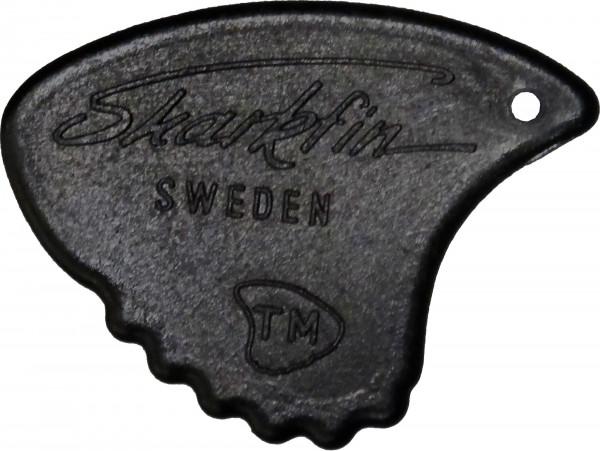 Sharkfin Plektrum 1,15 schwarz Sweden Relief