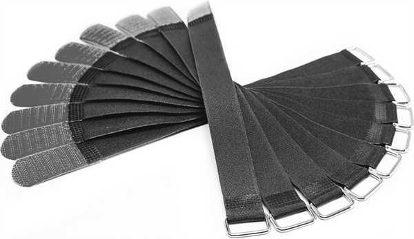 Red Rock Klett Kabelbinder 300 x 20 mm schwarz / Stück
