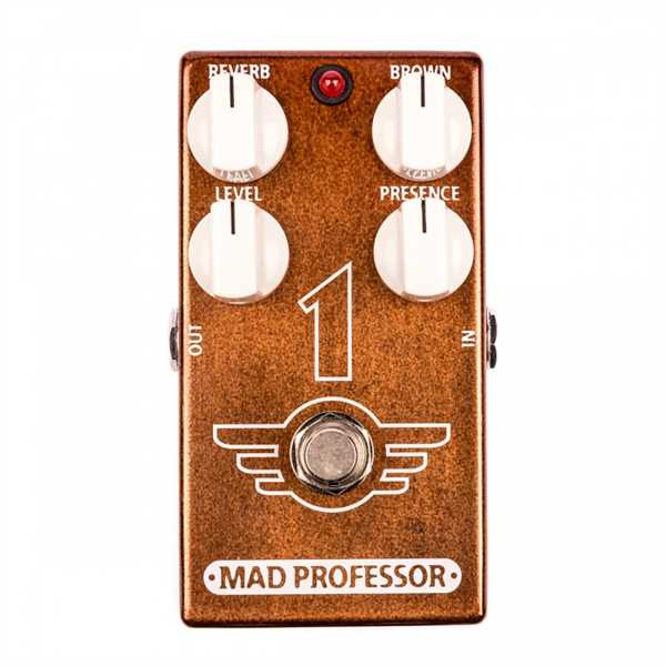 "Mad Professor One ""1"" Distortion/Reverb Factory Pedal"