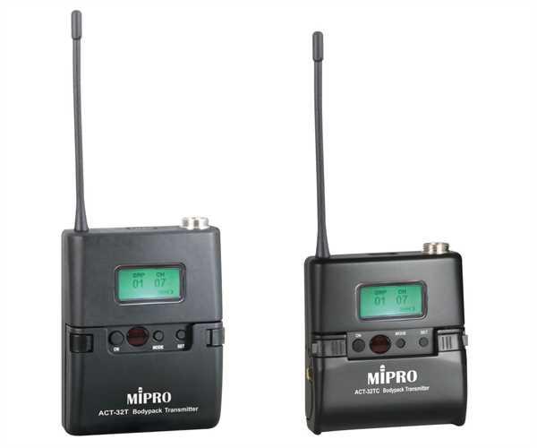MIPRO ACT-32T UHF Taschensender 823-832 MHz