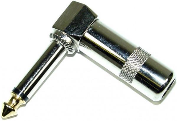 Adam Hall 75192 Klinkenstecker Winkel mono 6,3mm