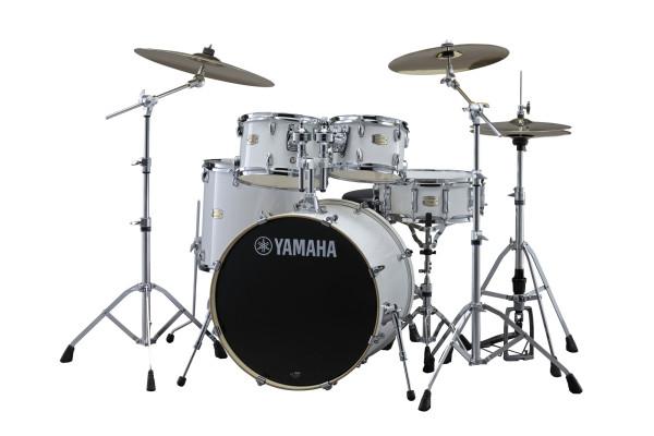 Yamaha SBP2F5PWH6W Stage Custom Set Pure White mit HW