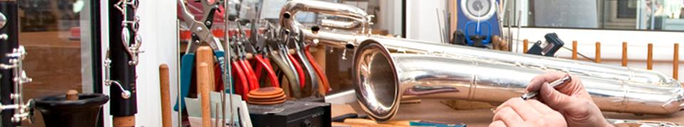 Reparaturen Blasinstrumente