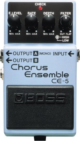 Boss CE 5 Chorus Ensemble Effektpedal