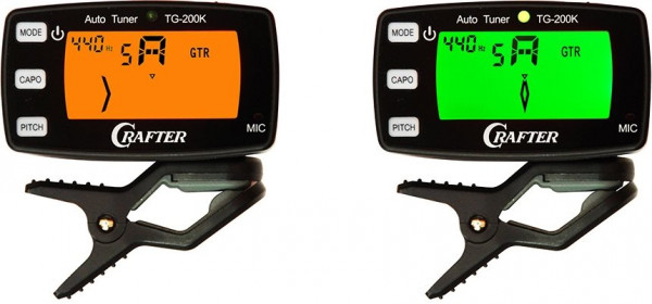 Crafter TG 200 K Clip Tuner NEW