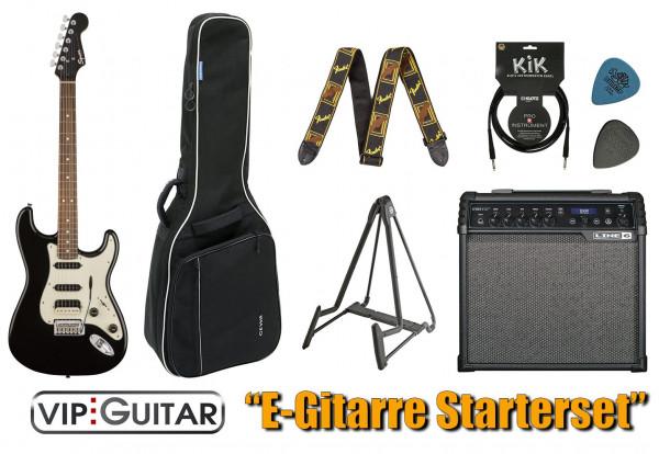 Fender Squier Contemporary HSS VIP-Guitar Einsteigerpaket E-Gitarre
