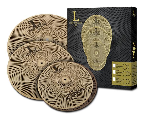 Zildjian L80 Low Volume 468 Cymbal Set