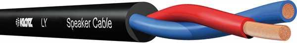 Klotz LY240S Lautsprecherkabel schwarz -m-