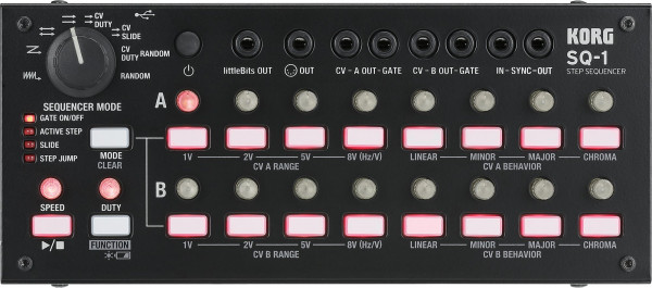 Korg SQ-1 2x8 Step-Sequenzer