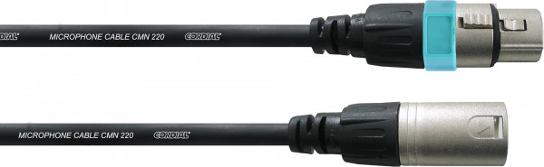Cordial CCM 1,5 FM Mikrokabel 1,5 m XLR-XLR