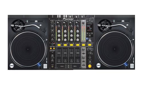 DJ-Konsole Vinyl