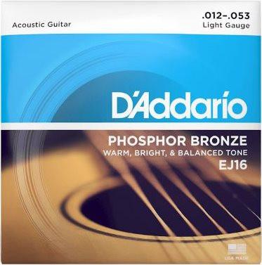 D Addario EJ 16 012-053 Phosphor Bronze