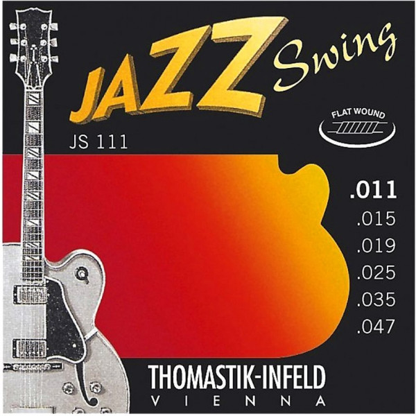 Thomastik JS 111 Jazz Swing Series Flat Wound