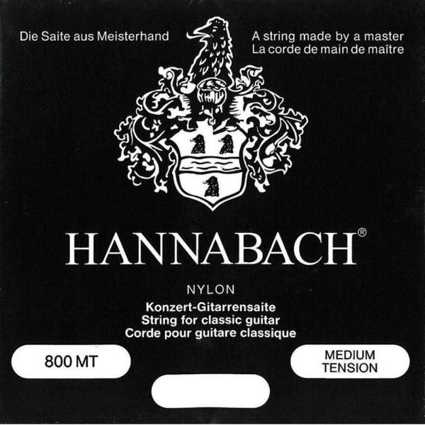 Hannabach 800 Medium Tension Black