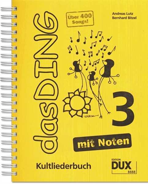 Das Ding, Das Ding mit Noten DIN A4 Bd.3