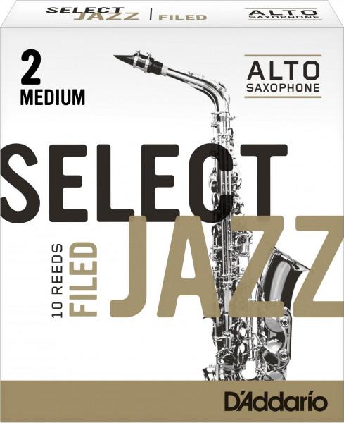D´Addario Select Jazz Alt-Sax 2M Filed