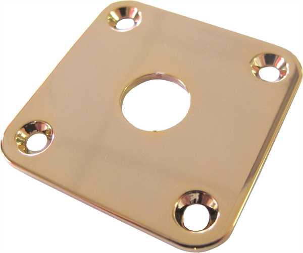 Göldo Buchsenblech 4-Loch gerade gold