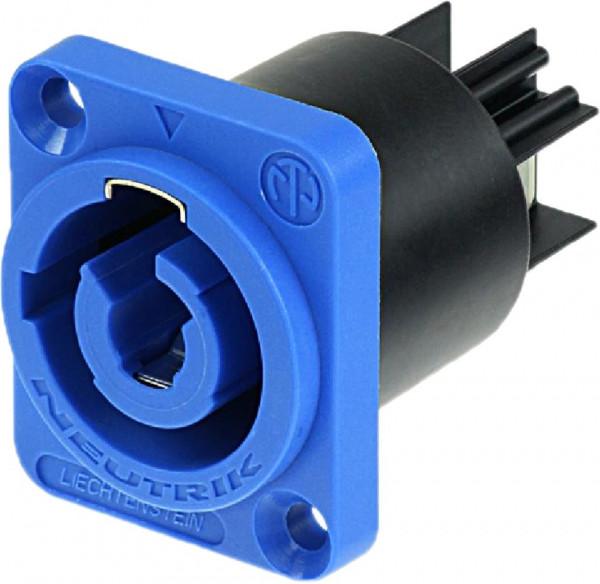 Neutrik NAC 3MPA-1 Power Con Buchse Powerin blau