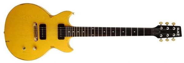 Slick Sl60 Tv Yellow E Gitarren Gitarren Gitbass Instrumente