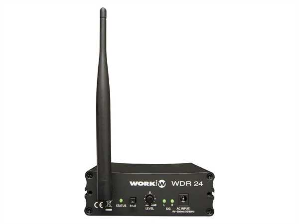 Work Pro WDR24 2.4GHz Audio-Empfänger
