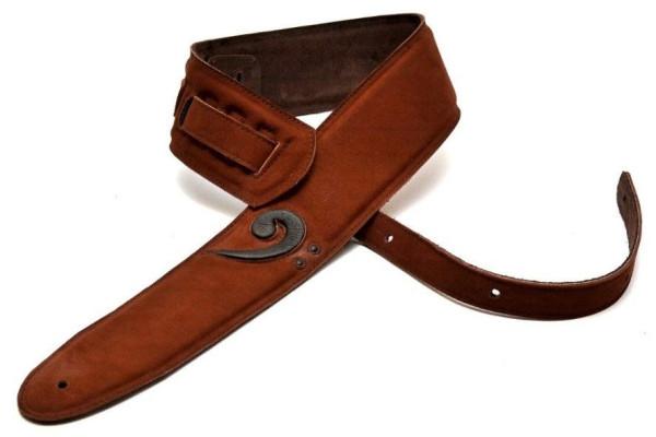 Bourbon Strap Guitar Key F Brown