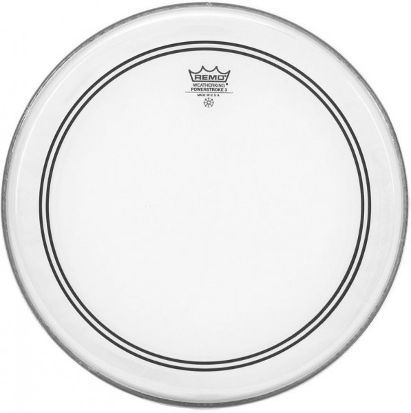 Remo Powerstroke 3 Clear Bass Drum 20