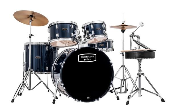 Mapex Tornado Studio Drum Set komplett Royal Blue