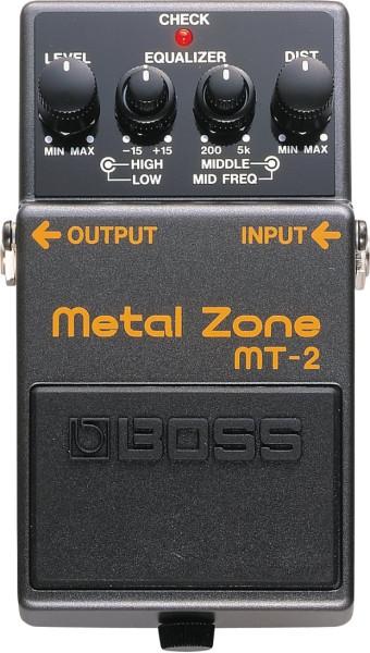Boss MT 2 Metal Zone Effektpedal