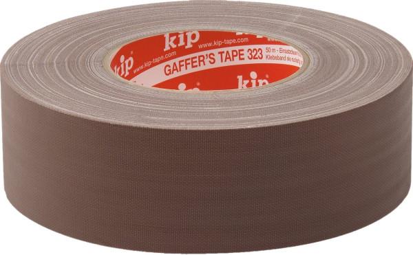 kip Gaffer Tape 323 braun matt