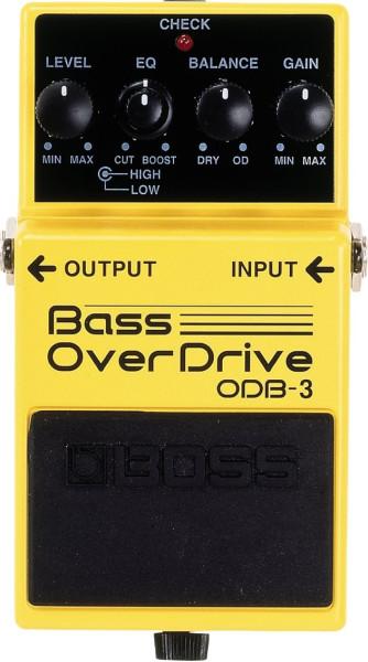 Boss ODB 3 Bass Overdrive Effektpedal