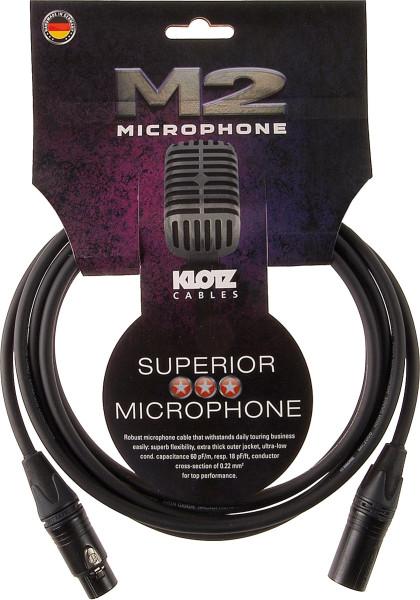 Klotz M2FM1-0500 Mikrokabel 5m Neutrik XLRm-XLRf