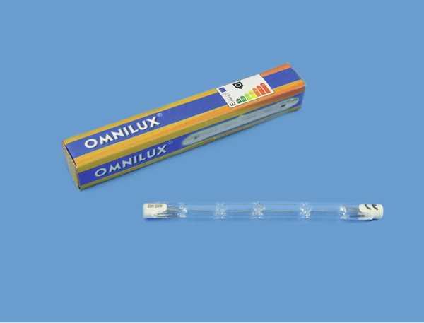 Lampe 400w 230v R7s Halogenstab Omnilux Leuchtmittel Zubehor