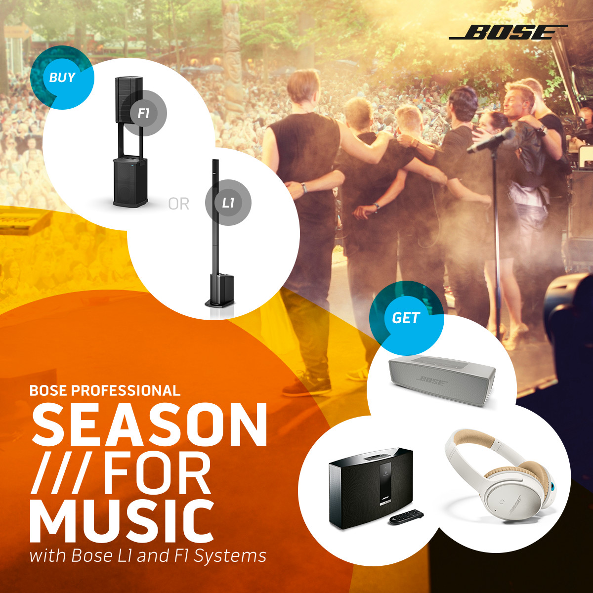 Bose - Summer For Music