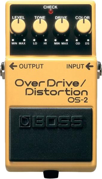 Boss OS 2 Overdrive Distortion Effektpedal
