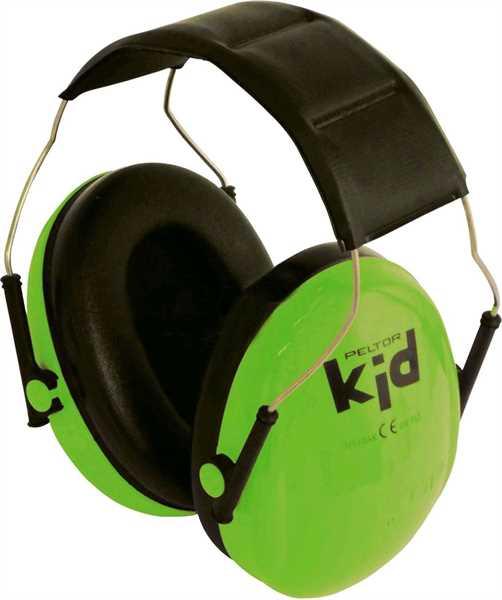 Peltor Gehörschutz Kids Neon-Grün
