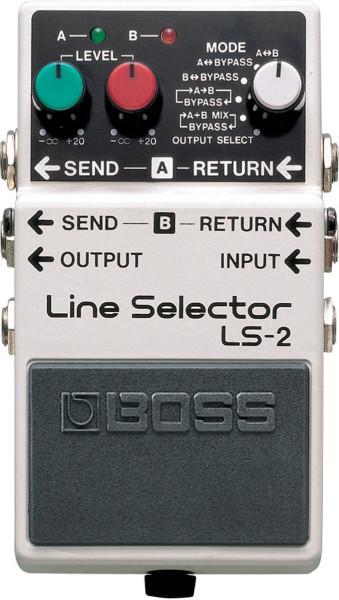 Boss LS 2 Line Selector Effektpedal