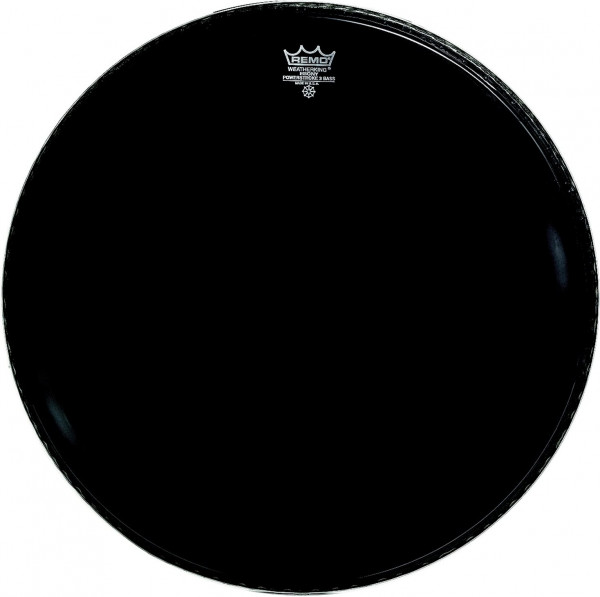 Remo Ebony Powerstroke 3 Bass Drum 22
