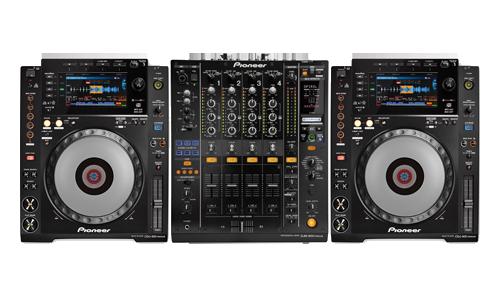 DJ-Konsole CDJ