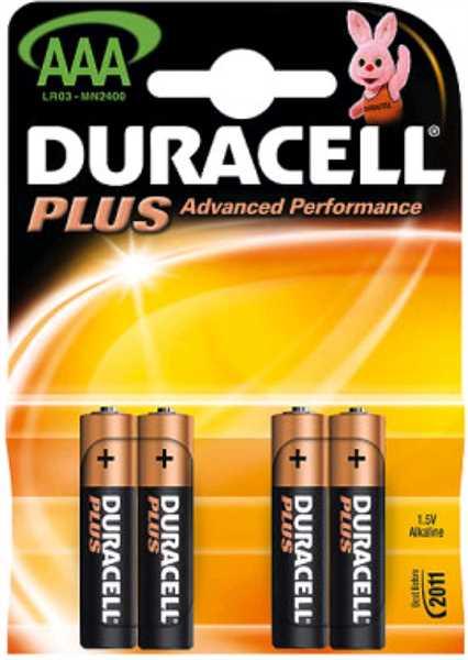 Duracell AAA Micro 4er - Blister -