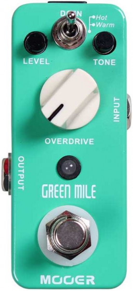 Mooer Green Mile Classic Overdrive Pedal