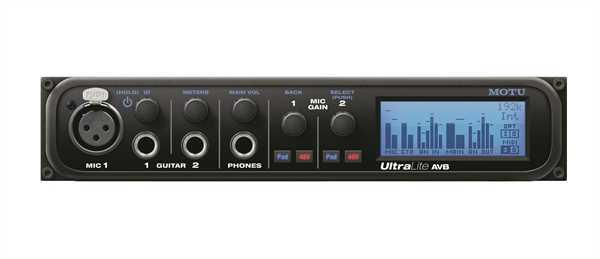 MOTU UltraLite AVB USB/ Ethernet Interface B-Ware