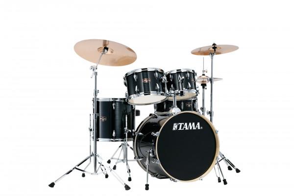 Tama Imperialstar Drumset Studio Hairline Black