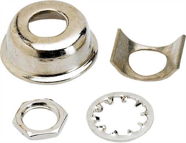 Fender Parts Buchsenblech Tele Nickel
