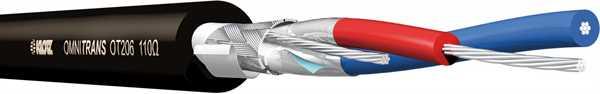Klotz OmniTRANS OT206 DMX-Kabel schwarz -Meter-