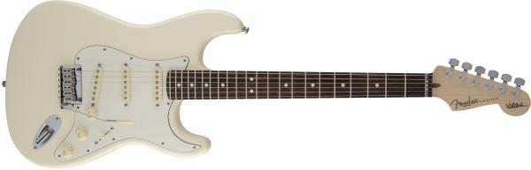 Fender Jeff Beck Strat Olympic White