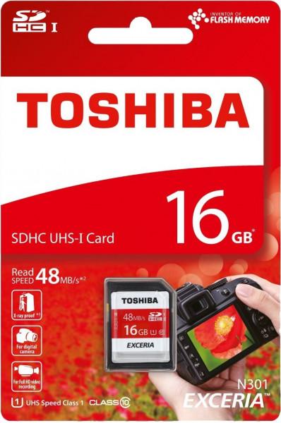 Toshiba SDHC Card 16GB Class10